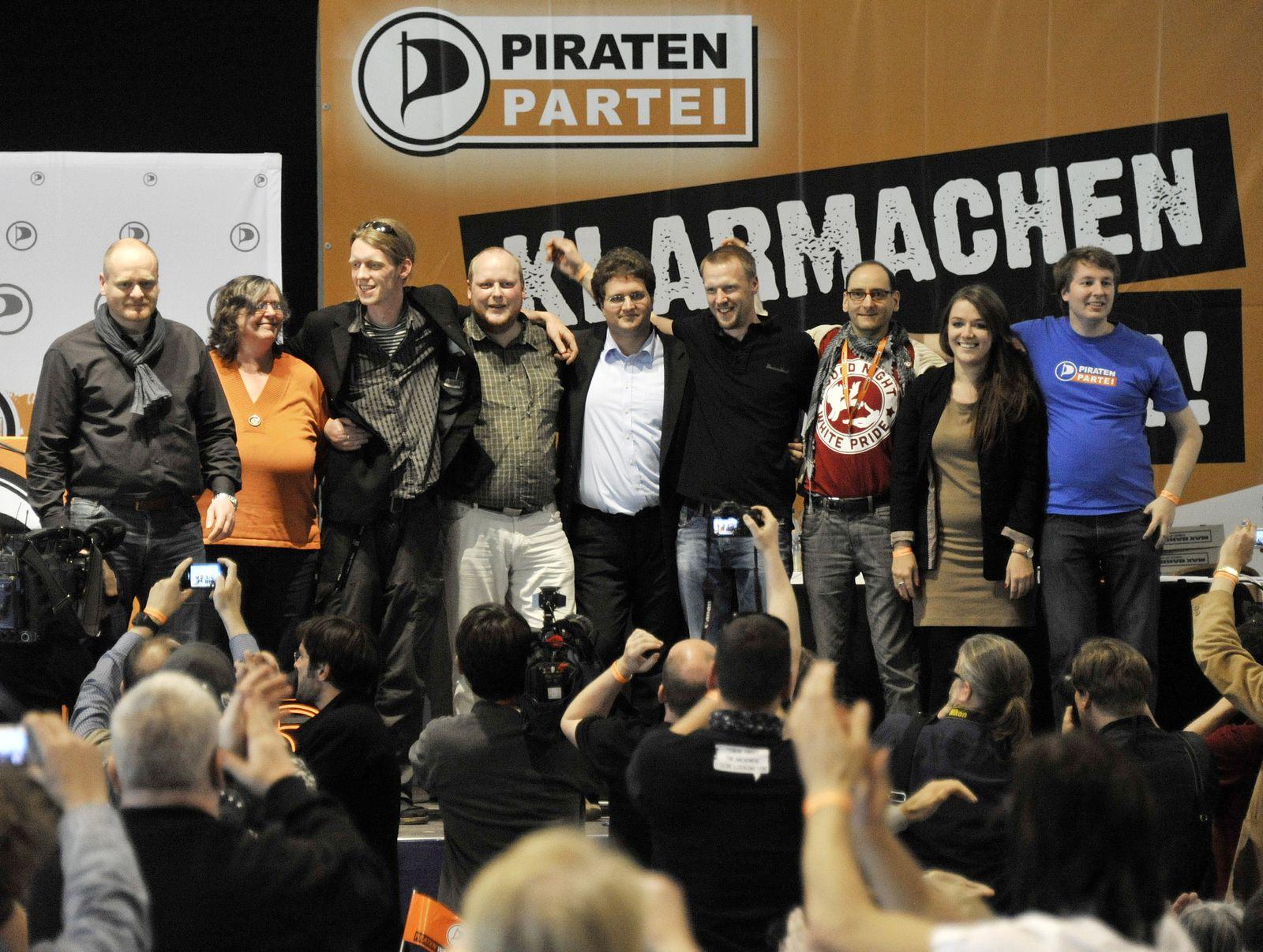 NICHT VERWENDEN Piratenpartei / Vorstand