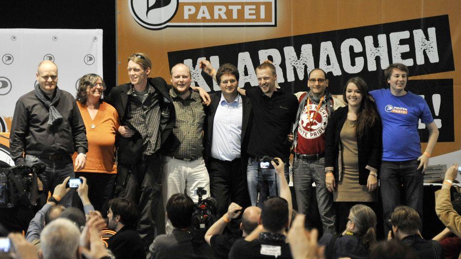 Bundesvorstand der Piraten: Nach Streitereien kämpft die Partei mit schlechten Umfragen