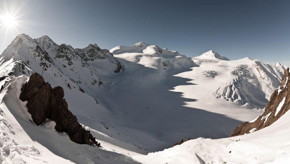Skitourenpark im Pitztal: Keine Lawinen, keine Spalten - kein Powder