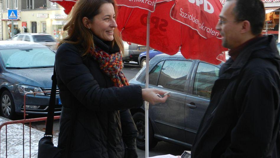 SPD-Politikerin Gebers: Rückhalt von der Basis