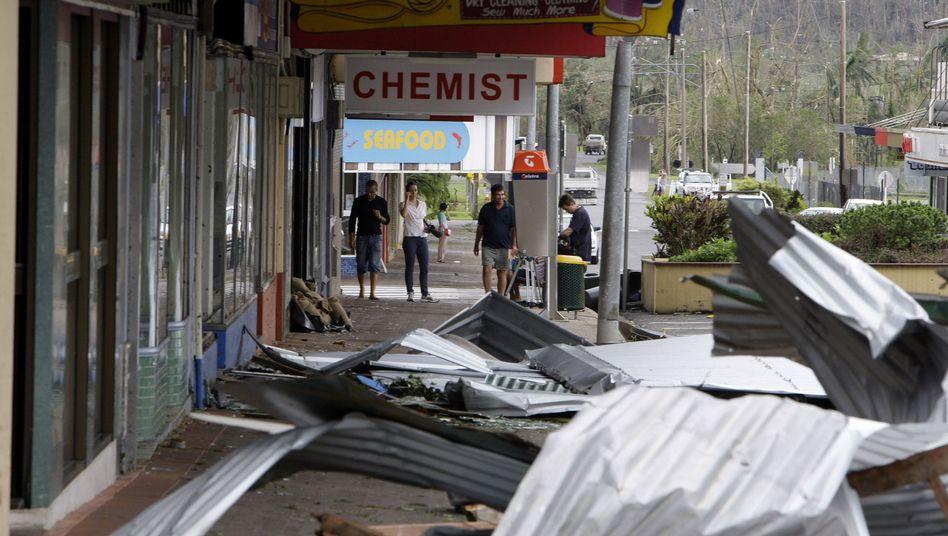 """Australien trotzt Wirbelsturm: """"Es war gespenstisch"""""""