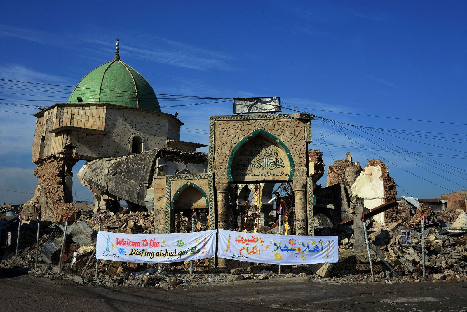 IRAQ-HERITAGE-MOSUL-MOSQUE-RECONSTRUCTION