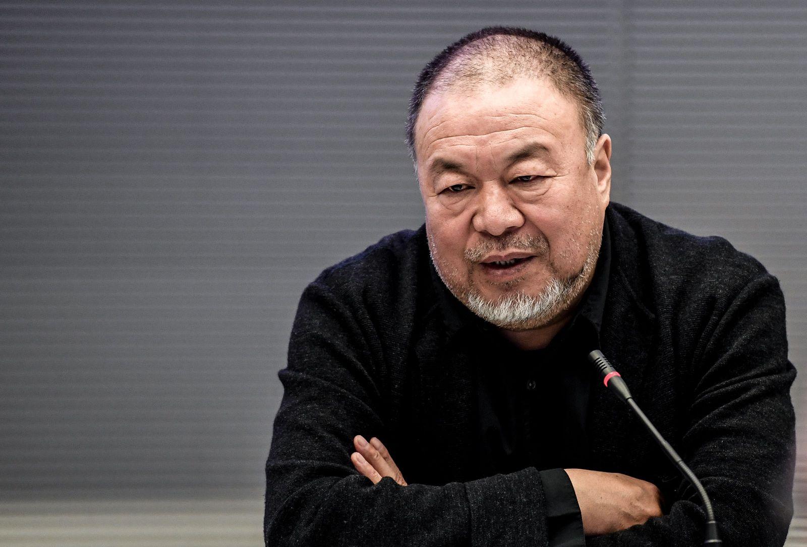 Ai Weiwei presents Wuhan documentary in Berlin, Germany - 29 Sep 2020