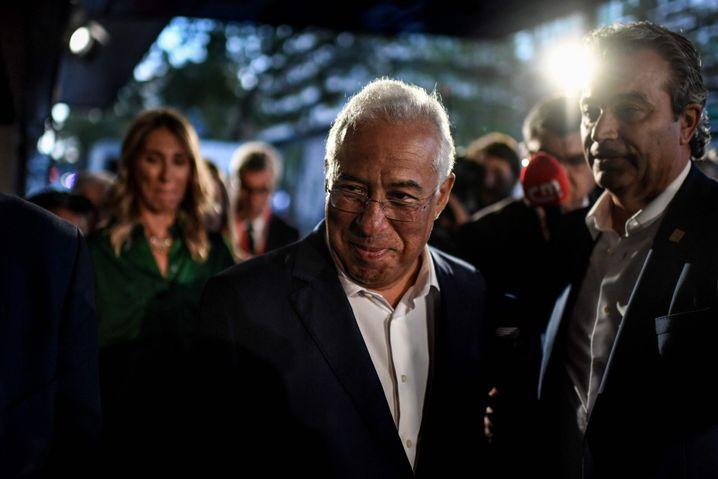 """António Costa am Wahlabend: """"Die PS hat ihre Position in Portugal gestärkt"""""""