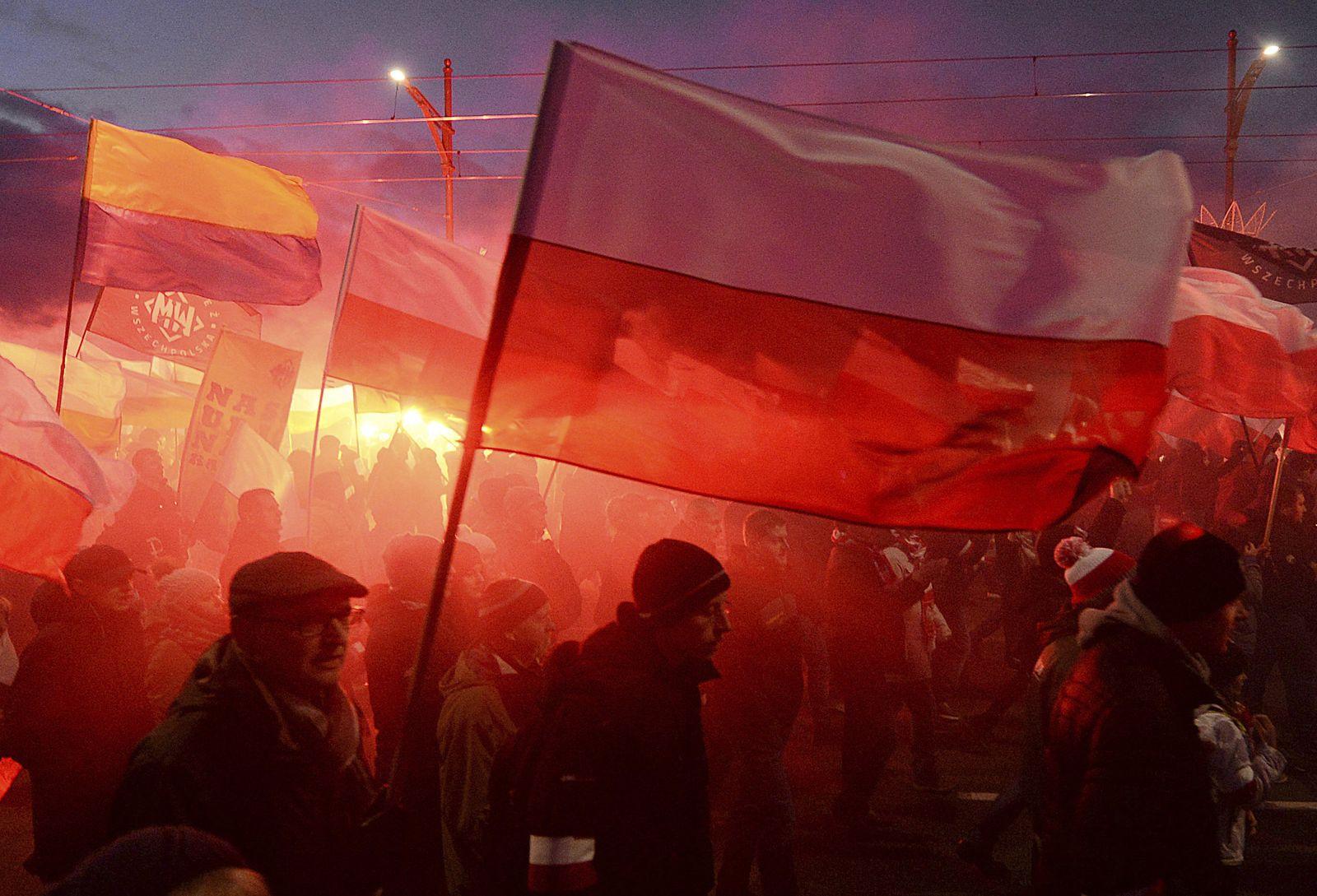 Polen/ Warschau/ Unabhängigkeitstag