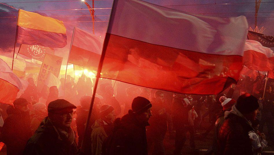 Nationalistischer Aufmarsch in Polen (2017)