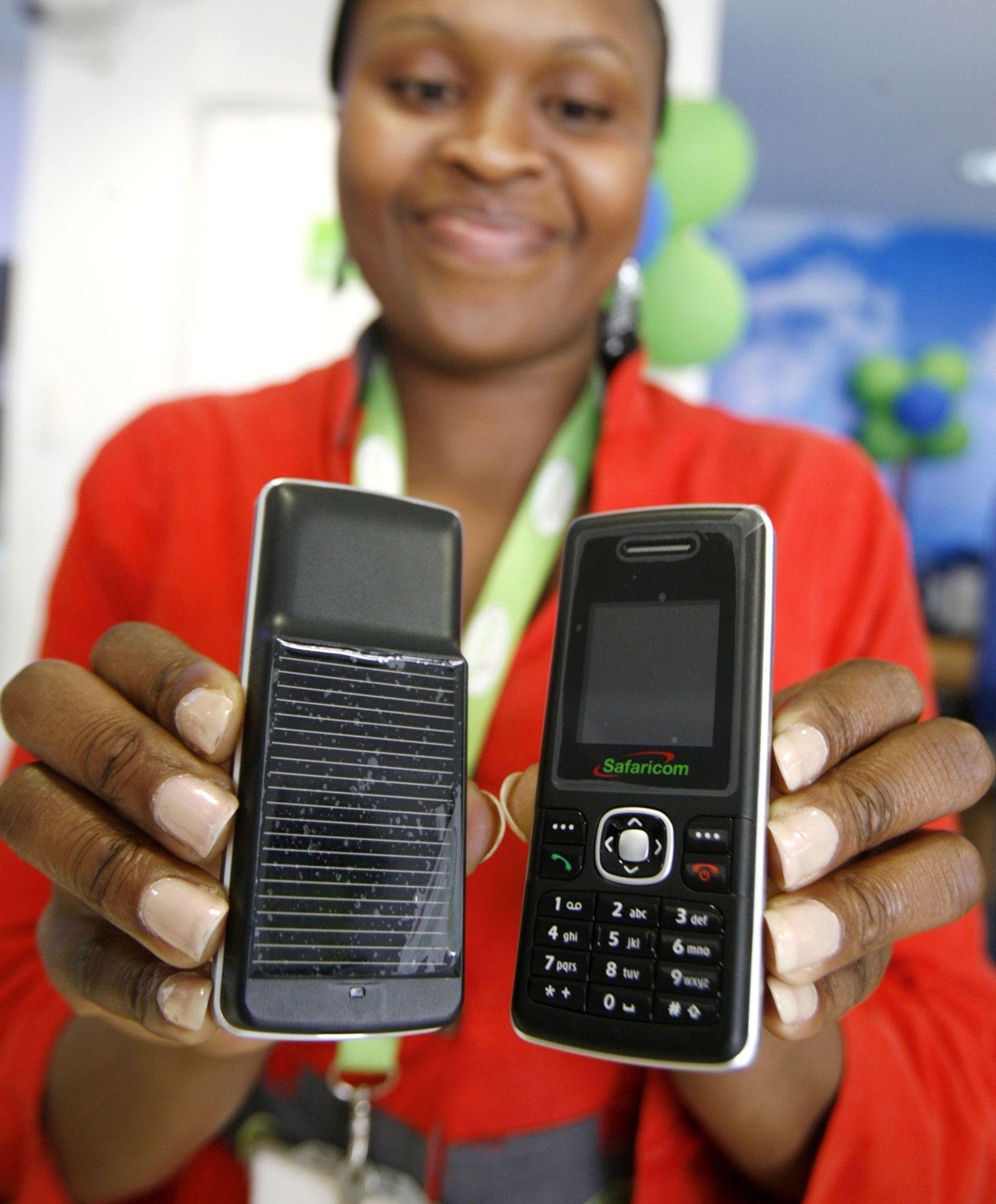 safaricom Solar-Handys