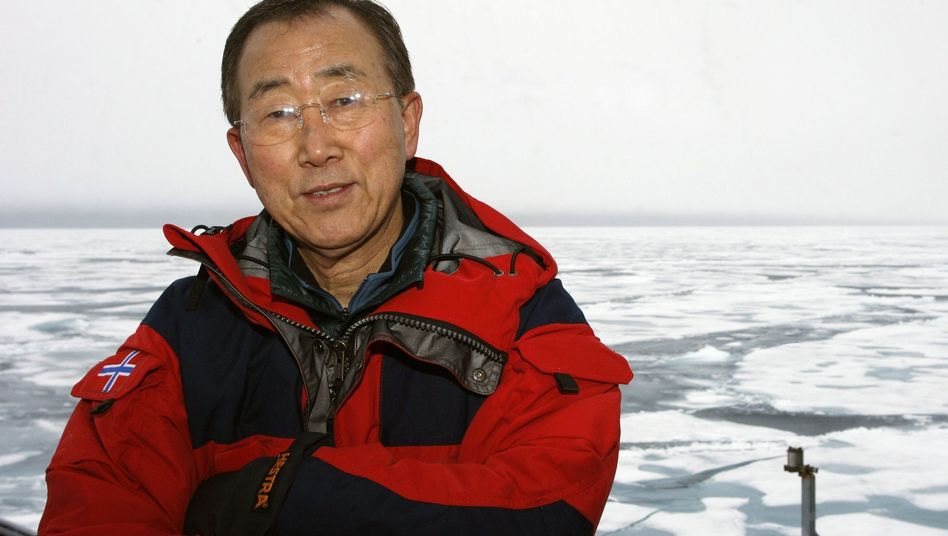 UN Secretary-General Ban Ki-moon: 'Urgent action is necessary to prevent human-caused climate change from spinning out of control.'