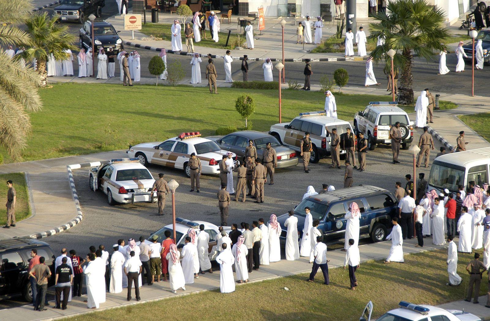Saudi Arabien/ Öffentliche Auspeitschung