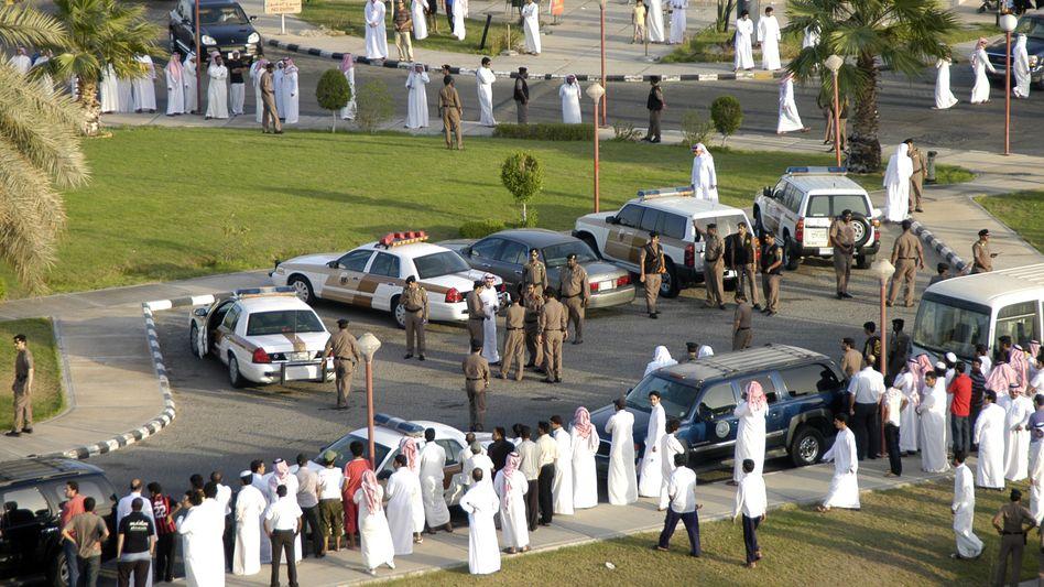 Hartes Justizsystem: Vorbereitungen für eine öffentliche Auspeitschung in der saudi-arabischen Stadt Khobar (Archiv)