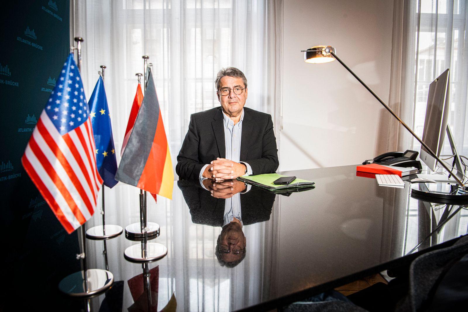 Sigmar Gabriel SPD im Interview