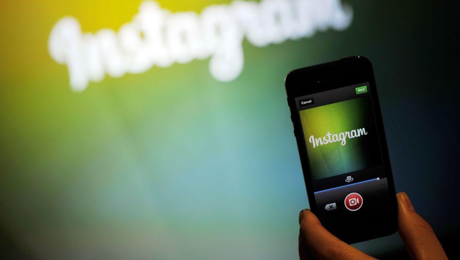 Instagram-App: Künftig mehr Live-Feeling