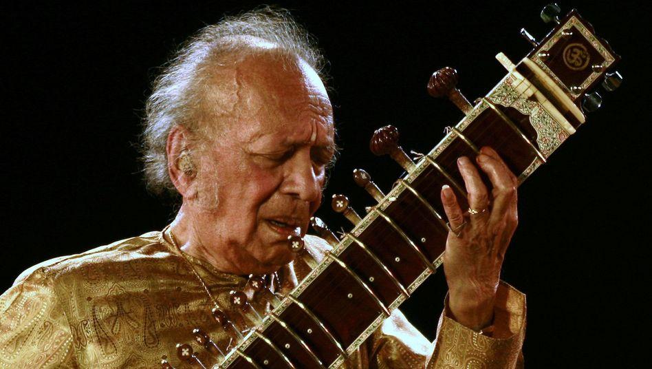 Hippie-Ikone: Indische Sitar-Legende Ravi Shankar gestorben