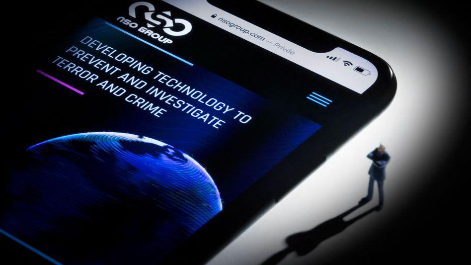 Pegasus von NSO ist eine Software zum umfassenden Ausspionieren von Smartphones