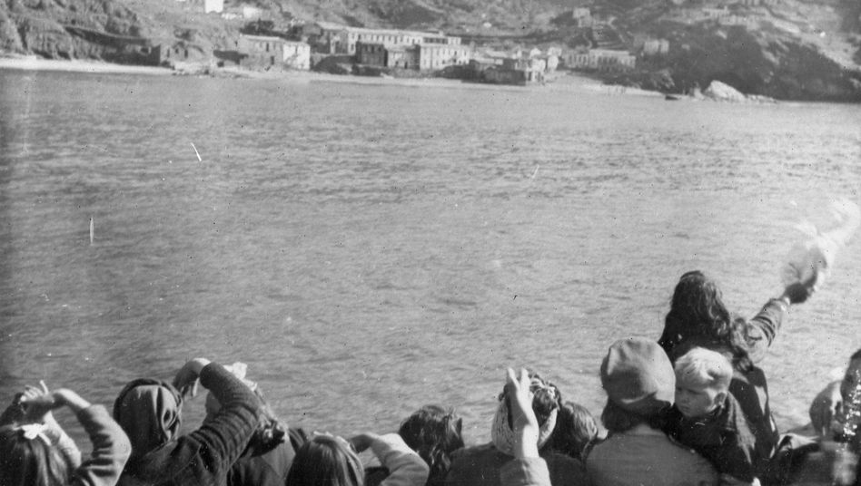 Während des Zweiten Weltkriegs lag eine der wichtigsten Fluchtrouten zwischen den griechischen Ägäis-Inseln und dem türkischen Festland