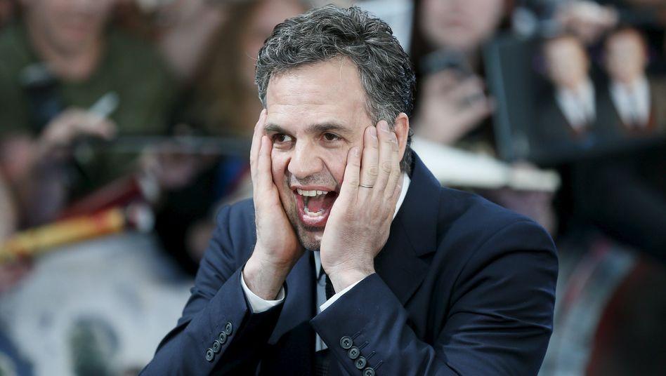 """Schauspieler Mark Ruffalo bei der Europa-Premiere von """"Avengers: Age of Ultron"""": """"Hulk ist eine Katastrophe, wenn er allein ist"""""""