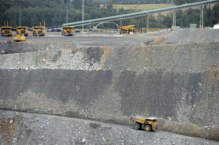 Kohlemine in New South Wales: Jahrzehnte des Wachstums
