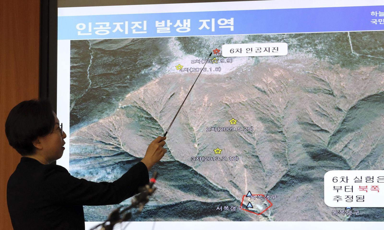 Nord Korea Erdbeben