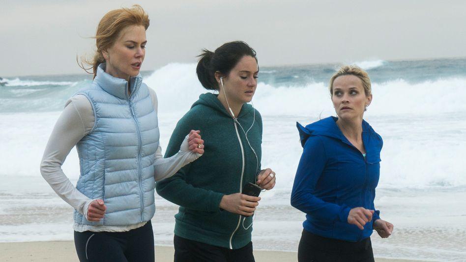 Witherspoon (von r.) mit Shailene Woodley und Nicole Kidman in »Big Little Lies«