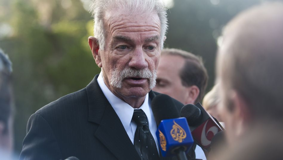 Florida pastor Terry Jones. The German government fears that letting him into the country could disrupt public order.