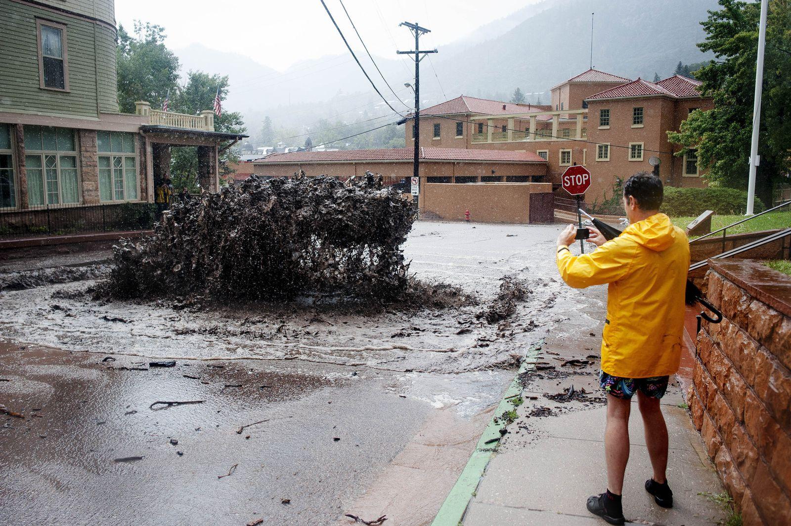 Colorado/ Überschwemmungen