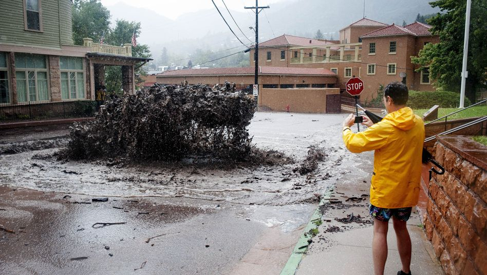 Überschwemmungen in Colorado: Wasserlawine ins Rollen gebracht