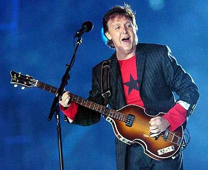 Popveteran McCartney: Legenden unter sich