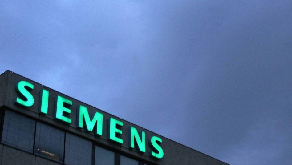 Siemens-Schriftzug: 34 Prozent an Areva gehalten