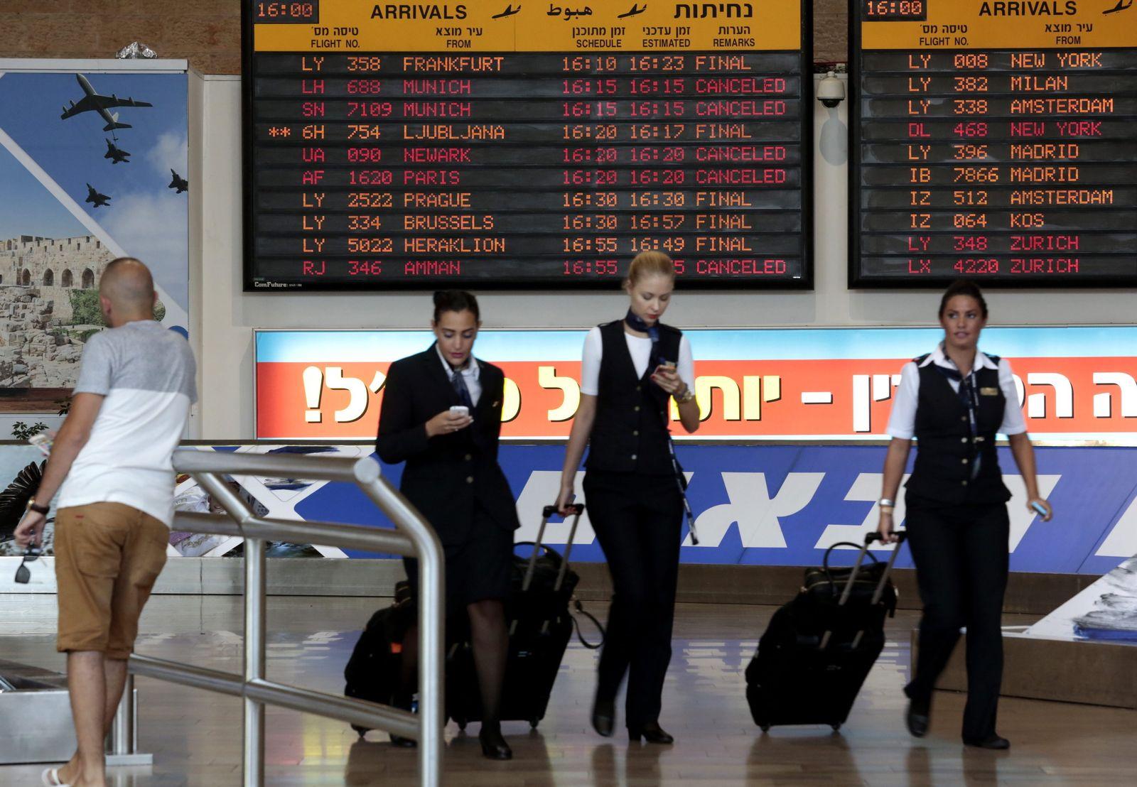 Tel Aviv Flughafen
