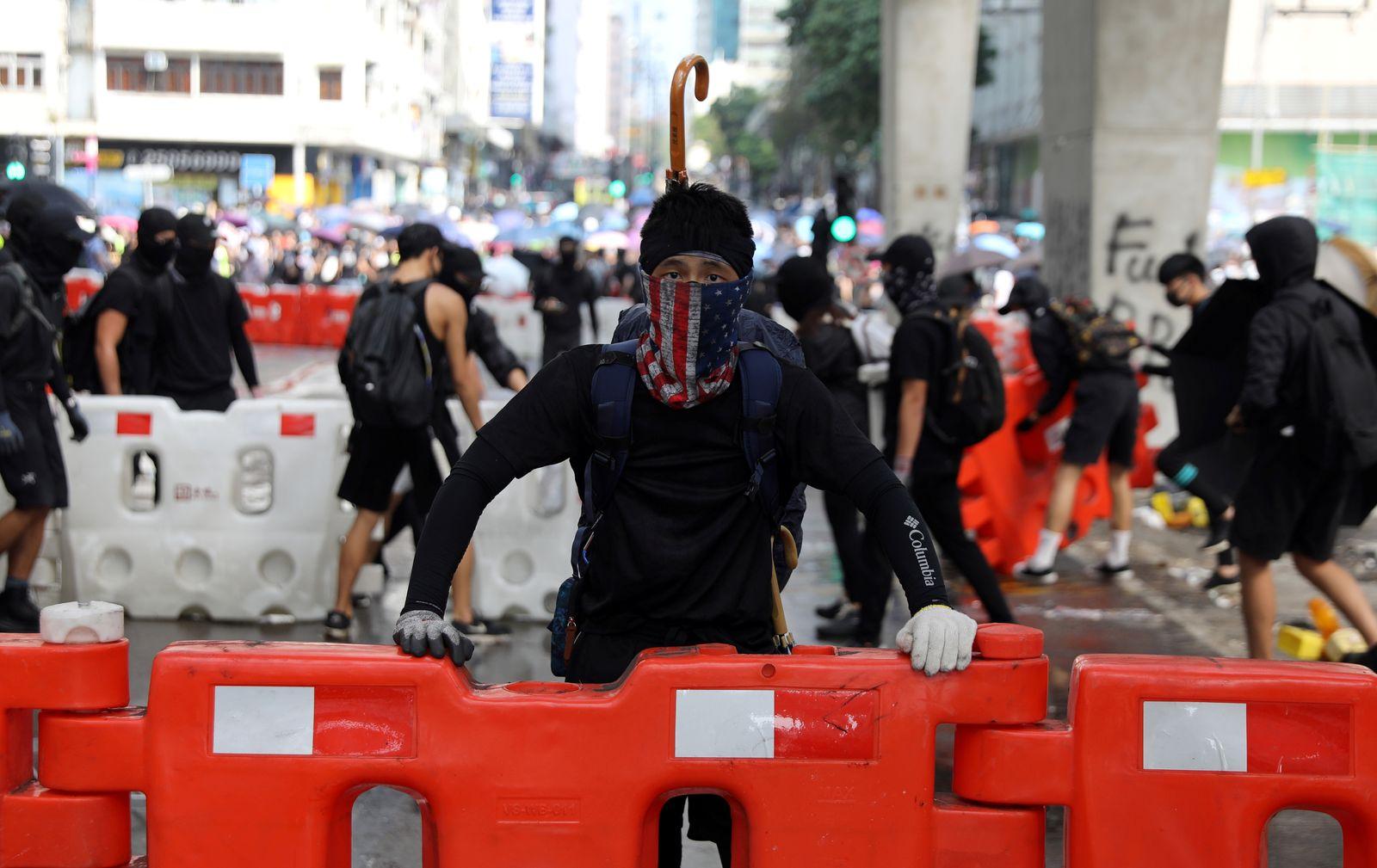 Hongkong/ Proteste