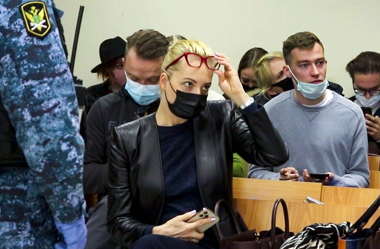 Nawalny-Prozess in Russland