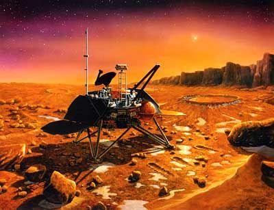 Mars Polar Lander: Sicher auf dem Mars gelandet?