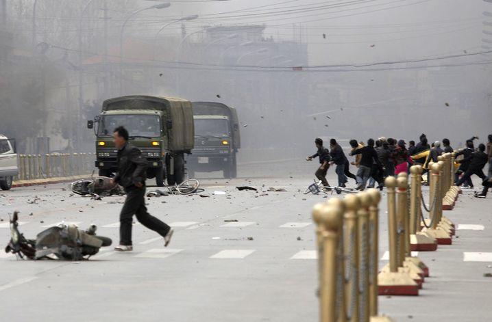 Aufstand in Lhasa