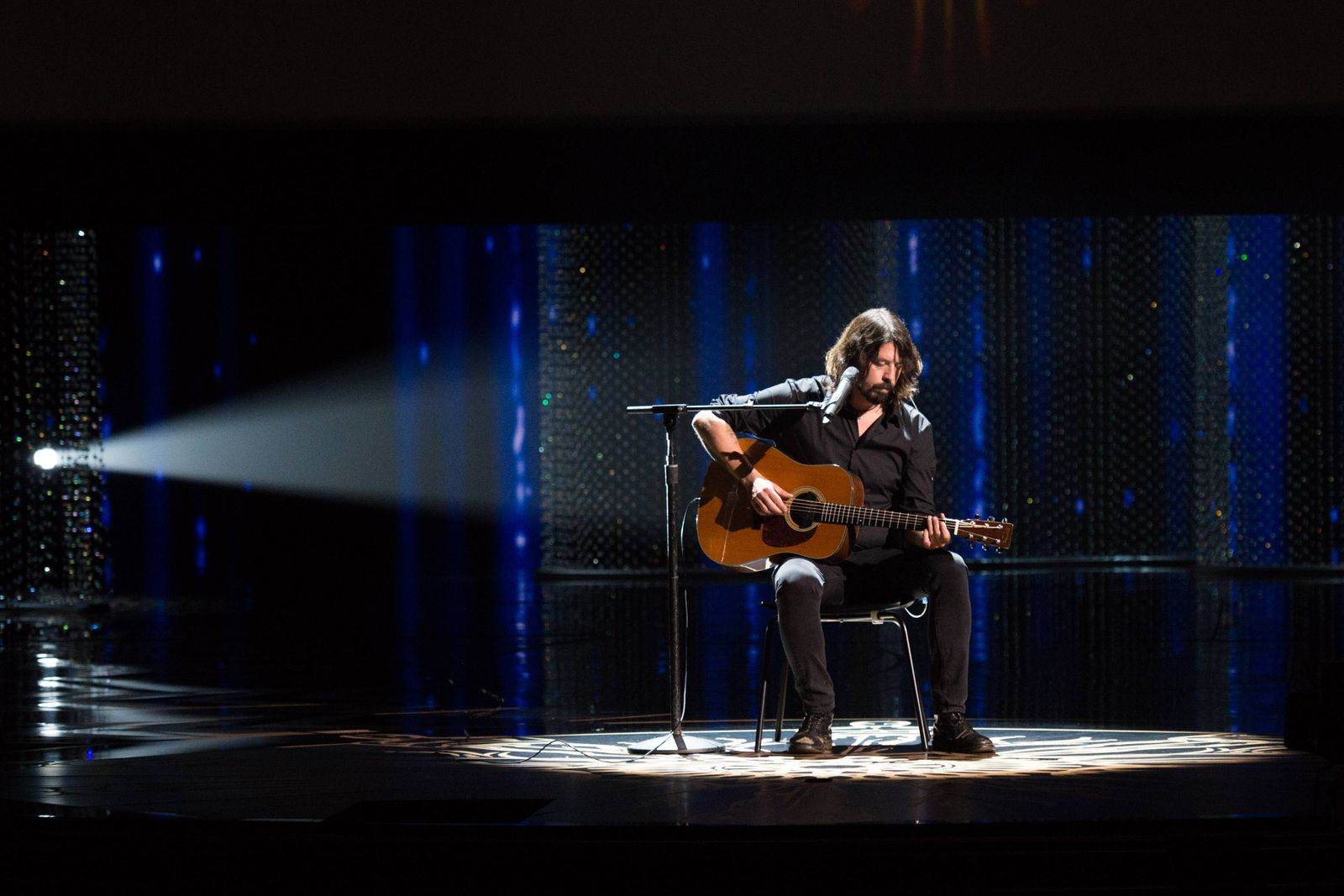 Feb 28 2016 Hollywood California U S Dave Grohl performs live at The 88th Oscars at the Dolb
