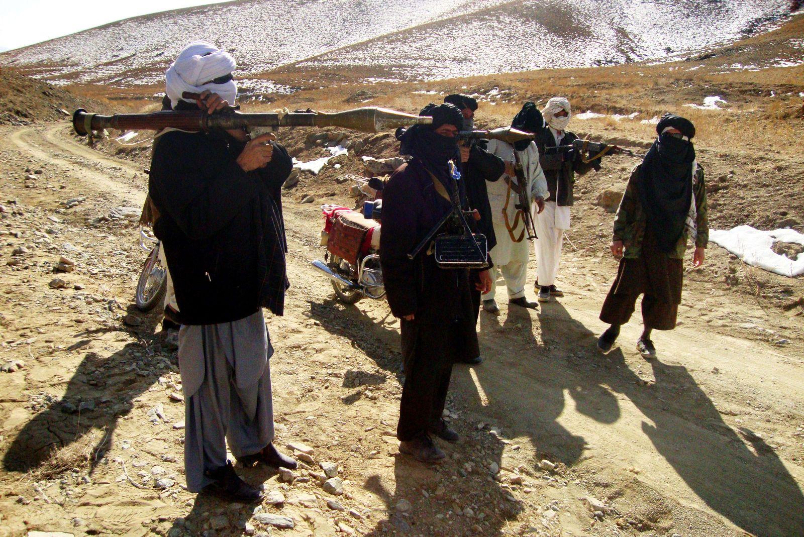 Afghanistan/ Taliban-Kämpfer