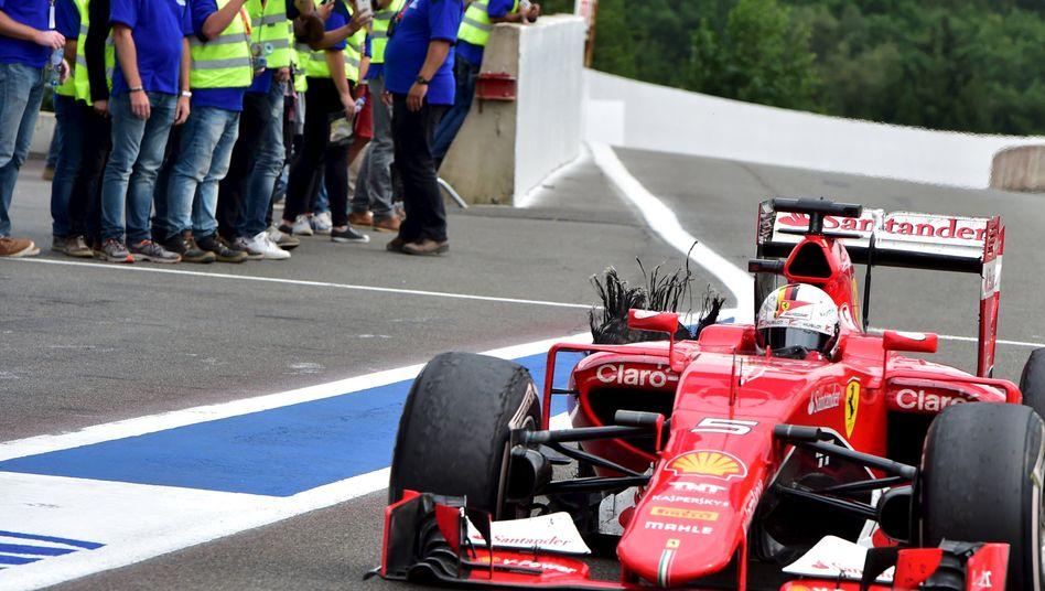 Formel-1-Pilot Vettel: Ist Ferrari falsch mit den Reifen umgegangen?