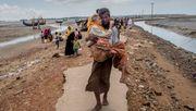 Bangladesch schiebt Rohingya-Flüchtlinge auf umstrittene Insel ab