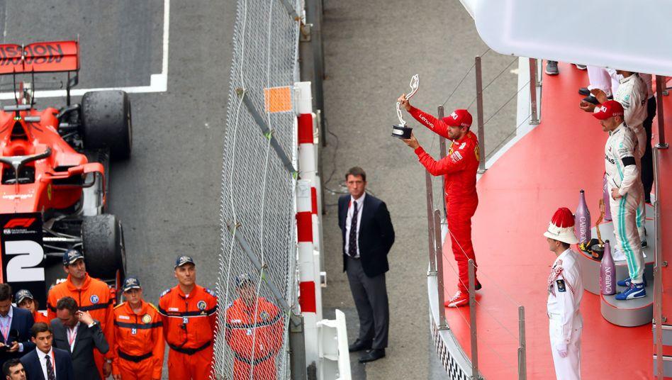 Freude über einen zweiten Platz hat es bei Ferrari nicht allzu häufig gegeben.