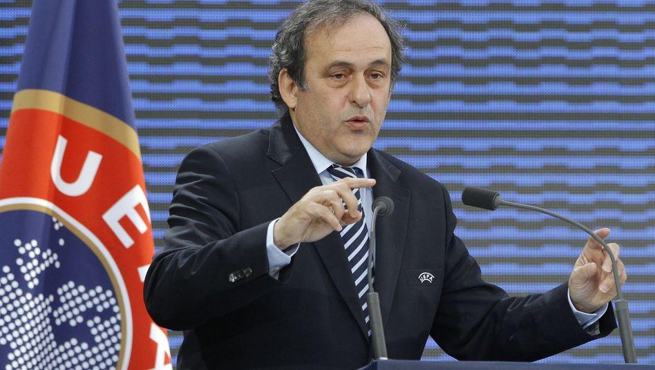 Uefa-Präsident Platini: Gedankenspiele zur Gewinnmaximierung