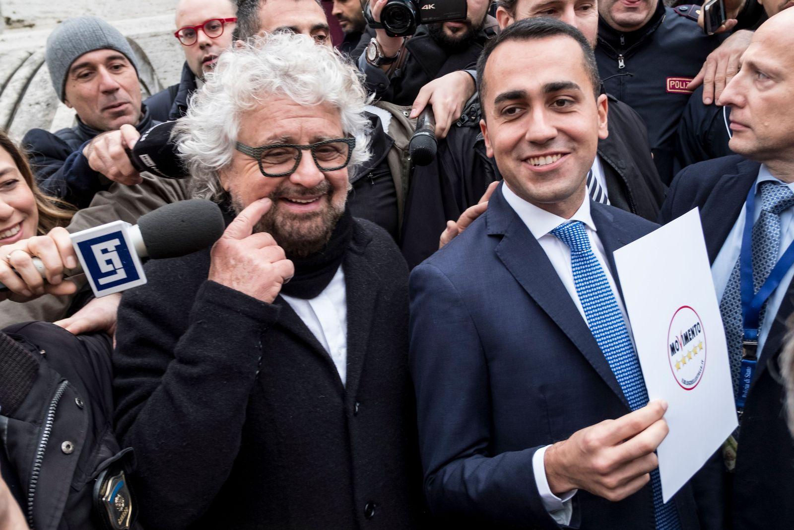Beppe Grillo / Luigi di Maio