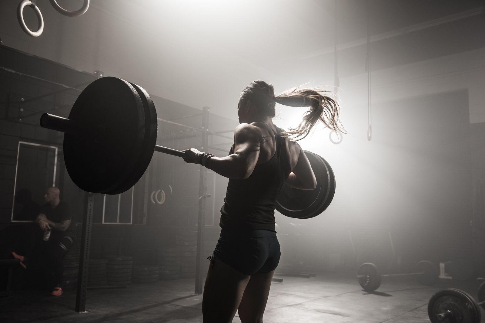 NICHT MEHR VERWENDEN! - Symbolbild Gewichtheben/ Fitness