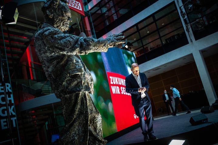 SPD-Kanzlerkandidat Olaf Scholz: »Wir wollen den menschengemachten Klimawandel aufhalten«