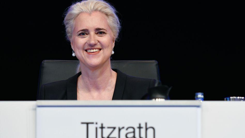 Angela Titzrath, Vorstandsvorsitzende bei der Hamburger Hafen und Logistik AG (HHLA)