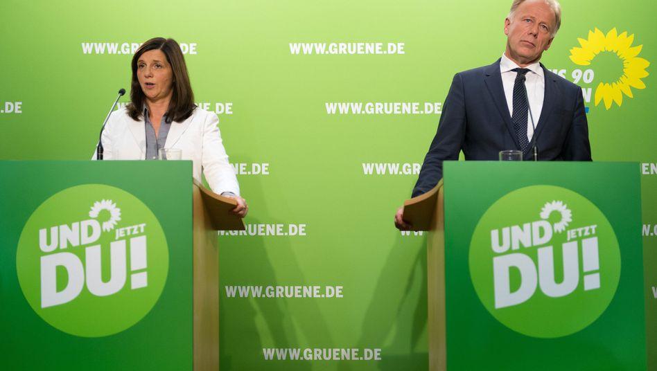 """Grünen-Spitzenkandidaten Göring-Eckardt, Trittin: """"Schreckliche Verirrung"""""""