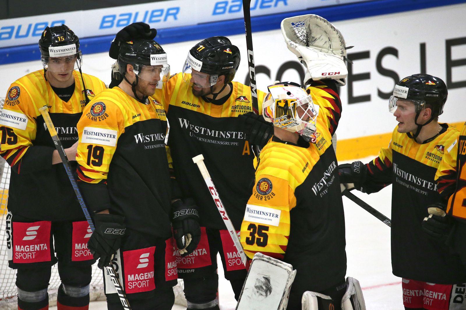 Eishockey: Deutschland - Slowakei