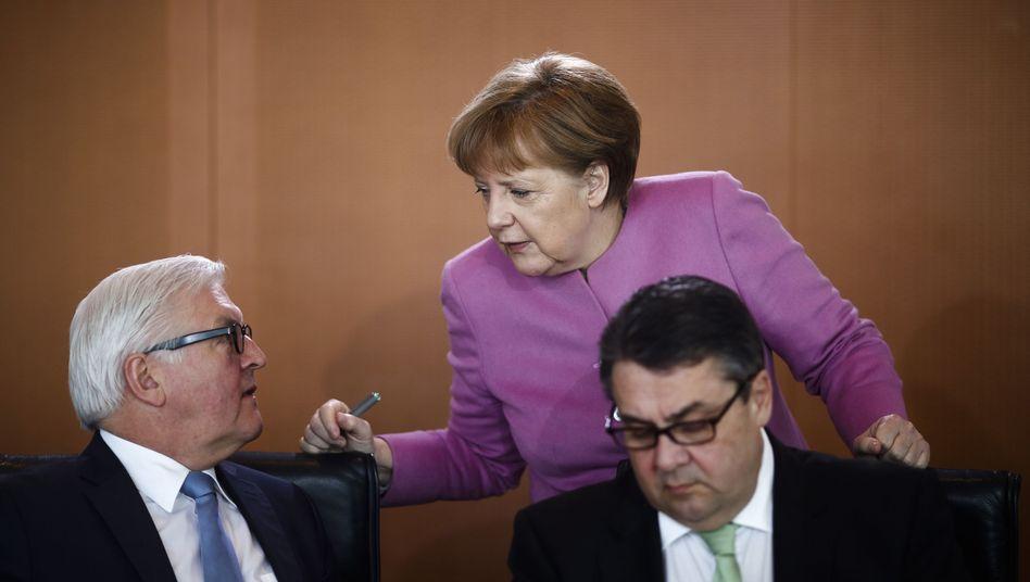 Wahl zum Bundespräsidenten: So wurde Steinmeier P-Kandidat