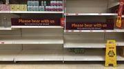 Briten haben erneut mit leeren Supermarktregalen zu kämpfen