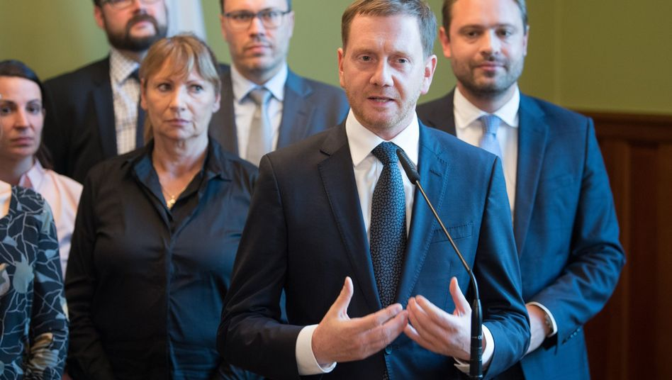 """Michael Kretschmer (CDU), Ministerpräsident von Sachsen: """"Wir wollen nicht verwalten, sondern gestalten"""""""