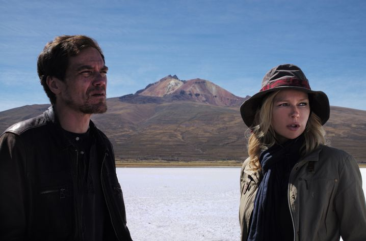 """Michael Shannon as CEO und Veronica Ferres als Wissenschaftlerin in """"Salt and Fire"""""""