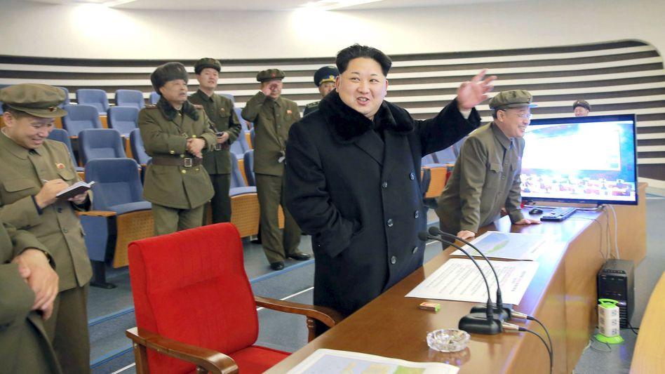 Medienbericht: Nordkorea macht offenbarAtomwaffen zum Einsatz bereit